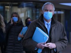 The EU's chief negotiator Michel Barnier is continuing talks in Brussels (Stefan Rousseau/PA)