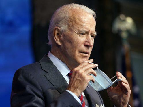 President-elect Joe Biden passed the 270 threshold (Andrew Harnik/AP)