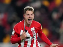 Sergi Canos scored a second-half hat-trick for Brentford (Tess Derry/PA)