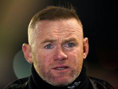 Wayne Rooney hit out at Millwall fans' 'disgraceful conduct' (John Walton/PA)