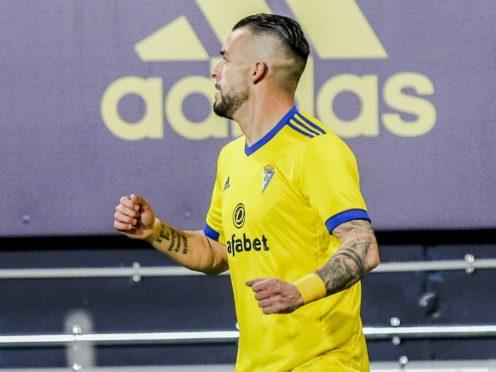 Alvaro Negredo sent Barcelona crashing to defeat (Alvaro Rivero/AP)