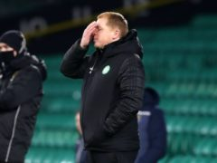 Neil Lennon suffered another blow (Andrew Milligan/PA)
