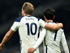 Harry Kane scored an historic 11th north London derby goal (Glyn Kirk/PA)