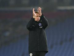 Brighton manager Graham Potter is determined to stay positive as his side head into a busy December (Naomi Baker/PA)