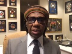 Chic frontman Nile Rodgers giving evidence to the Digital, Culture, Media and Sport Select Committee (House of Commons/PA)