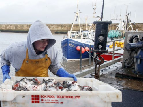 The UK gave ground on fisheries (Danny Lawson/PA)