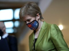 Nicola Sturgeon has announced mainland Scotland will return to lockdown from Boxing Day (Russell Cheyne/PA)