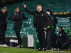 Celtic manager Neil Lennon happy with Lille win (Jane Barlow/PA)