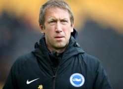 Brighton boss Graham Potter is preparing to face West Ham (Nick Potts/PA)