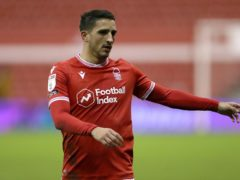Nottingham Forest's Anthony Knockaert is suspended for the Sky Bet Championship clash with Sheffield Wednesday (Bradley Collyer/PA)