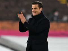 Fulham manager Scott Parker is devasted fans can no longer attend home matches (Neil Hall/PA)