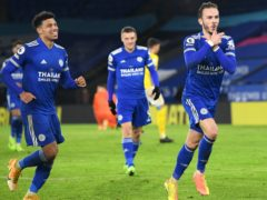 Leicester are third in the Premier League ahead of Wednesday's visit of Everton (Ben Stansall/PA)