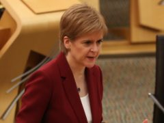 The First Minister answered questions on drug deaths (Andrew Milligan/PA)