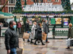 'Half of adults planning to form Christmas bubble' (Ben Birchall/PA)