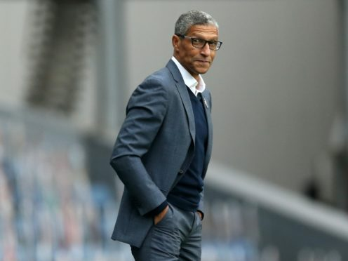 Nottingham Forest manager Chris Hughton was left frustrated by their draw with Birmingham (Barrington Coombs/PA)