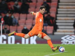 Asmir Begovic kept Bournemouth in the game with two fine saves (Andrew Matthews/PA)