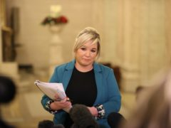 Deputy First Minister Michelle O'Neill said the Executive would meet at 9pm (Liam McBurney/PA)