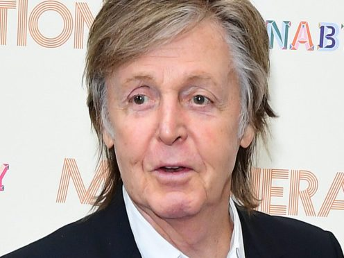 Sir Paul McCartney has completed his trilogy of albums after 50 years (Ian West/PA)