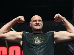 Could Tyson Fury win an award he does not want on Sunday? (Bradley Collyer/PA)