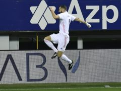 Karim Benzema starred for Real Madrid (Alvaro Barrientos/AP/PA)