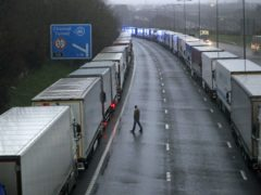 The closure of borders following the latest Covid-19 restrictions have sent markets down (Steve Parsons /PA)
