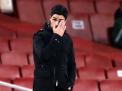 Arsenal manager Mikel Arteta saw his side outclassed by Manchester City (Nick Potts/PA)