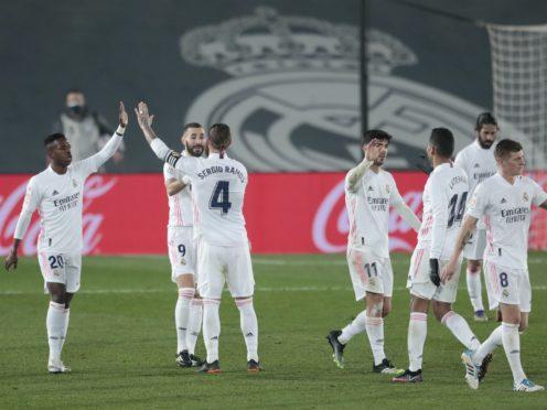 Real Madrid saw off Granada (Bernat Armangue/AP)
