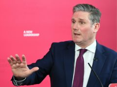 Sir Keir Starmer says Labour will focus on fairness and opportunity in the year ahead (Stefan Rousseau/PA)