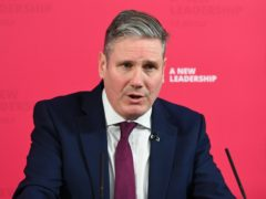 Sir Keir Starmer is facing a rebellion over his support for the Brexit deal (Stefan Rousseau/PA)