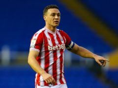 Stoke's James Chester handed Nottingham Forest a point (Barrington Coombs/PA)