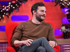 Jamie Dornan during the filming for the Graham Norton Show (Matt Crossick/PA)