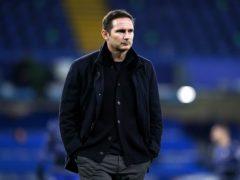 Chelsea manager Frank Lampard (John Walton/PA)