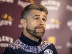 Motherwell manager Stephen Robinson has no new injury worries (Jeff Holmes/PA)
