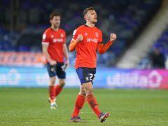 Kiernan Dewsbury-Hall scored for Luton (John Walton/PA)