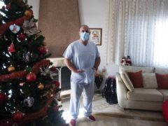 Gabriel Tachtatzoglou at his home (AP)