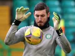 Celtic's Vasilis Barkas to keep his place for Old Firm game (Andrew Milligan/PA)