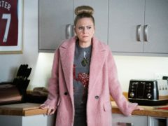 EastEnders star Kellie Bright said her character Linda Carter was left feeling 'guilty and shameful' after cheating on husband Mick with Max Branning (Kieron McCarron/Jack Barnes/BBC/PA)