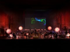 An orchestra plays the Fitbit Stress Symphony (Fitbit)