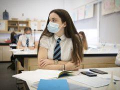Education Secretary John Swinney said he wanted to see all pupils back in the classroom on January 18 (Jane Barlow/PA)