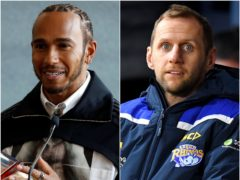 Lewis Hamilton and Rob Burrow are among those from the sporting world to be recognised in the New Year Honours (PA)