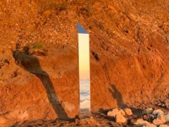 The Isle of Wight monolith (Lee Peckham/PA)