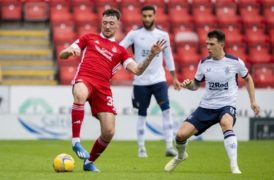 Aberdeen confirm departure of on-loan striker Ryan Edmondson