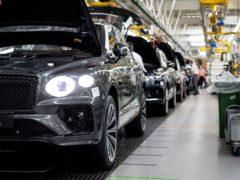 Bentley Bentayga production has started
