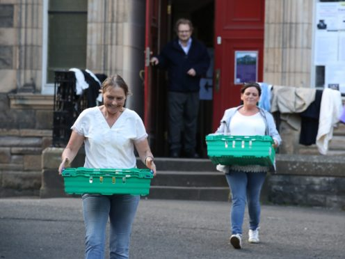 Research shows churches across Scotland performed more than 200,000 acts of support during the initial coronavirus lockdown (Andrew Milligan/PA)