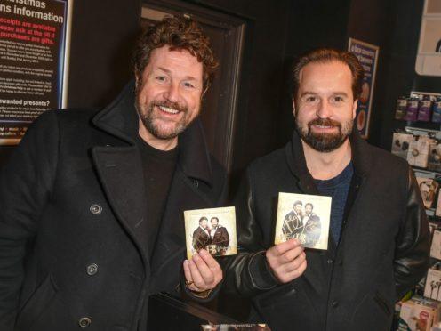 Michael Ball and Alfie Boe (Jules Annan/PA)