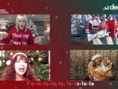 Famous Carols sing Deck The Halls (Deezer)