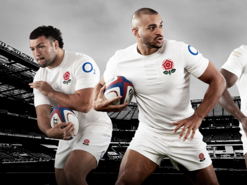 England will face Scotland in a unique jersey on February 6 (Umbro handout/PA)