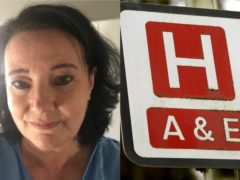 NHS receptionist Val Stimson (East Kent Hospitals University NHS Foundation Trust)