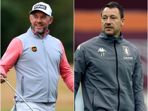 Lee Westwood and John Terry have offered their support to Shaun Wane (PA)