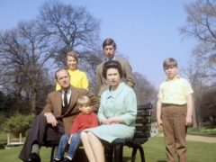 The royal family in the 1960s (PA)